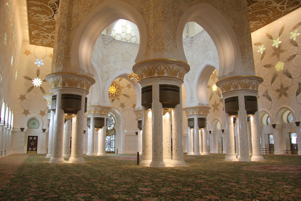With Sheikh Zayed Mosque Rated As The 2nd Favourite