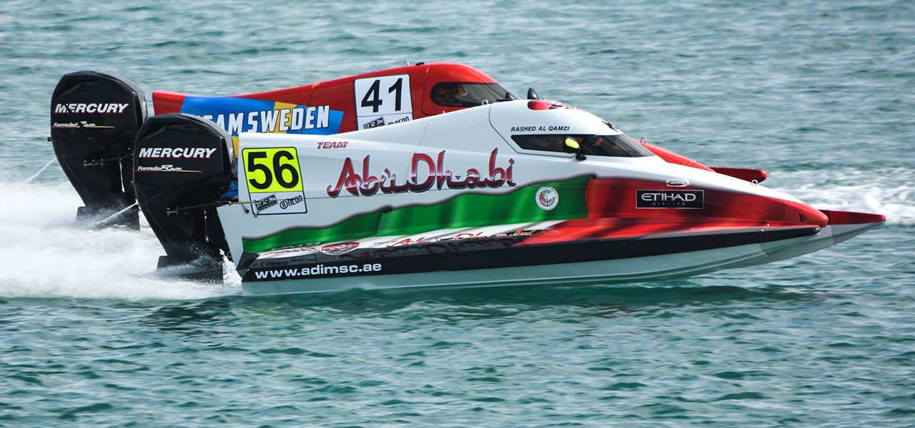 Everything about the F1 H2O super-boats - UAE BookMyShow
